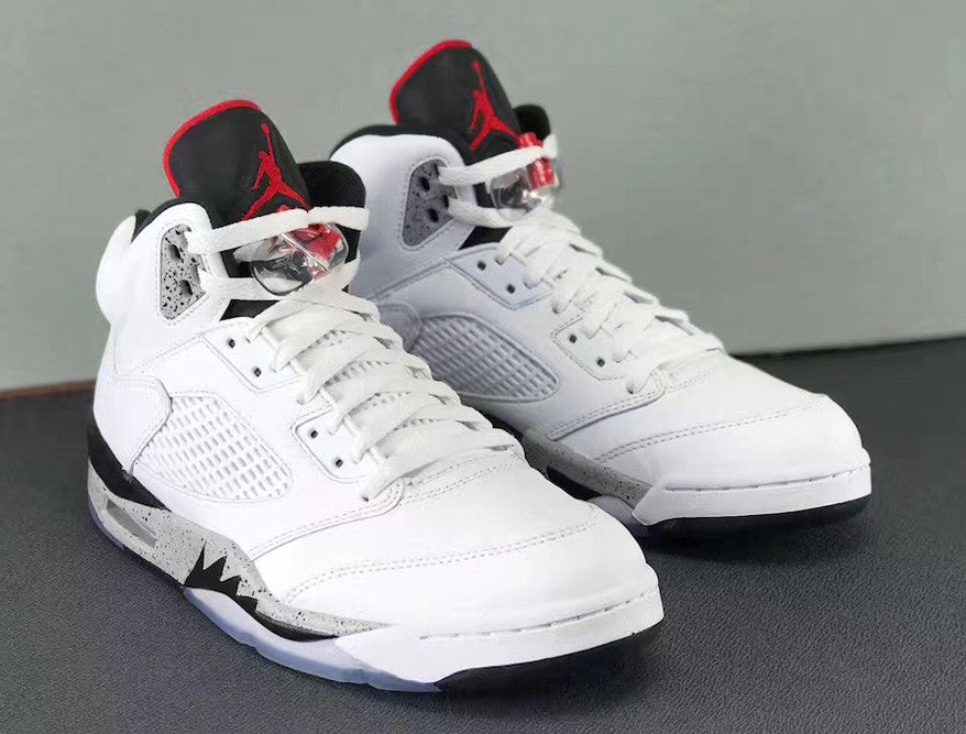 594ee5dbdb0 Air Jordan 5 White Cement