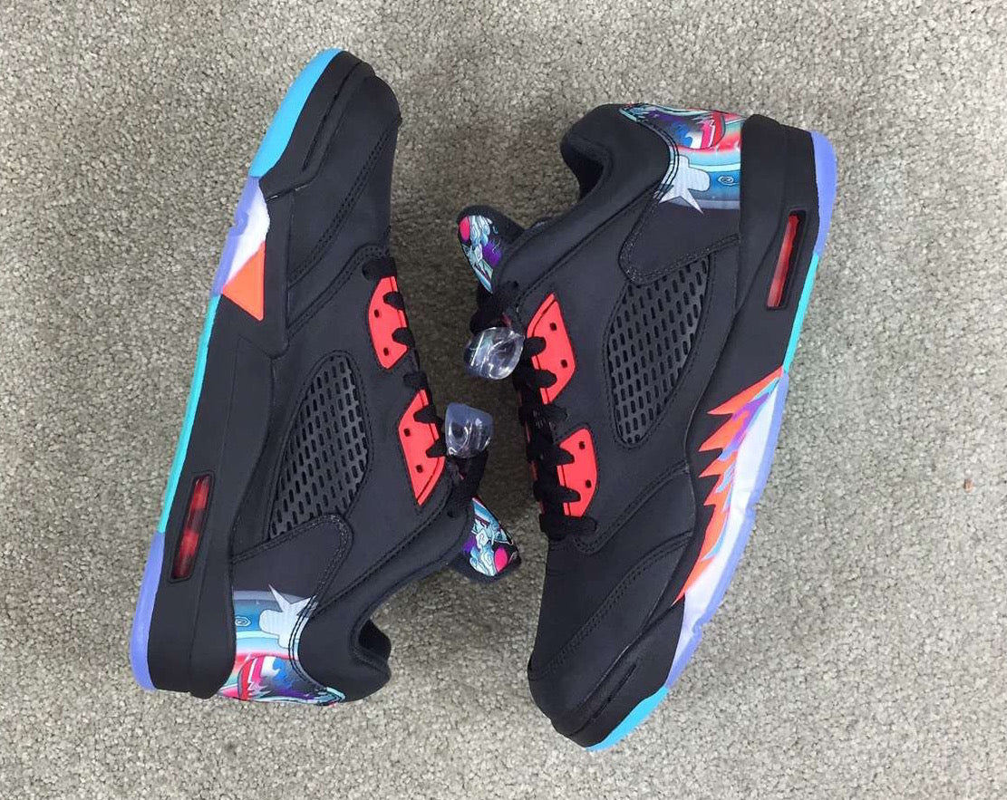 "933bdadb25c3 Air Jordan 5 Low ""China"" Release Date"