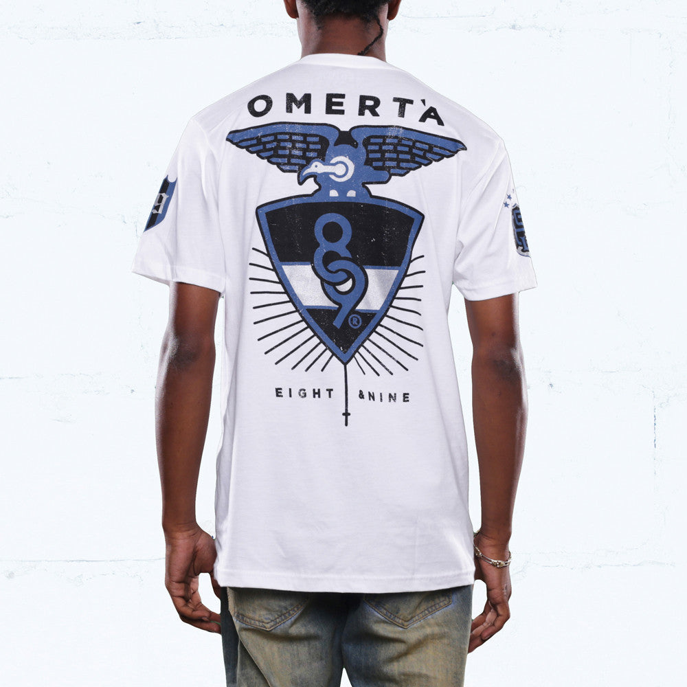 jordan 12 french blue omerta shirt