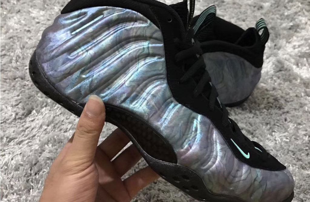the best attitude bede6 ab956 2018 Nike Foamposite Abalone