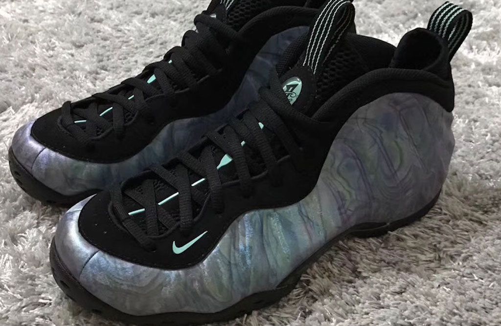 ceb3acb5 2018 Nike Foamposite Abalone | 8&9 Clothing Co.