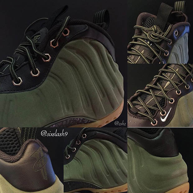 897a32fe296 This Shoe has a dark army green throughout the model s famous curves