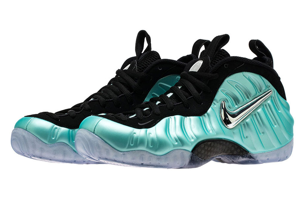 df7fd73b3543 2017 Nike Air Foamposite Island Green Release