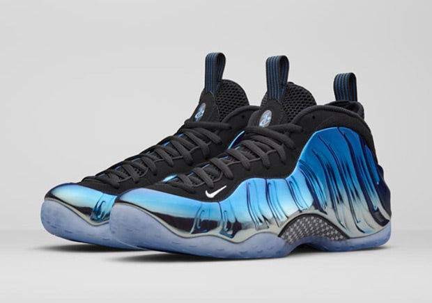 nike air foamposite one blue mirror release (2)