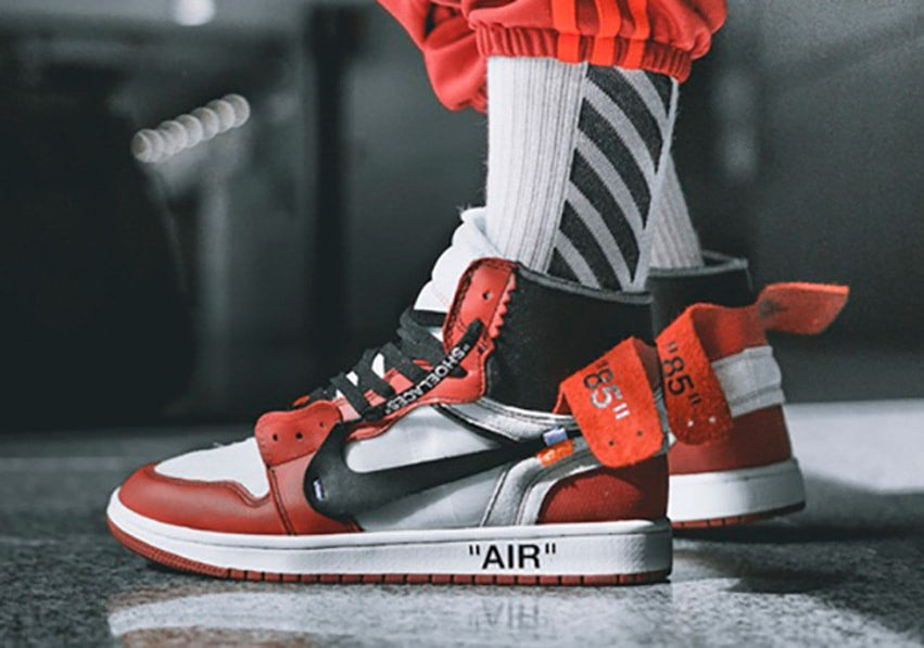 7a0f339db65 Off White Air-Jordan 1 Chicago | 8&9 Clothing Co.