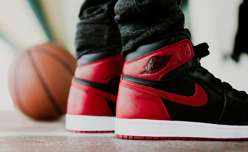 """separation shoes d21f1 6490a THE AIR JORDAN 1 OG """"BANNED"""" 