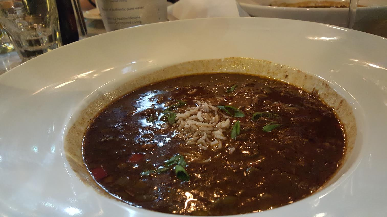 Pork Cheek and Conch Gumbo