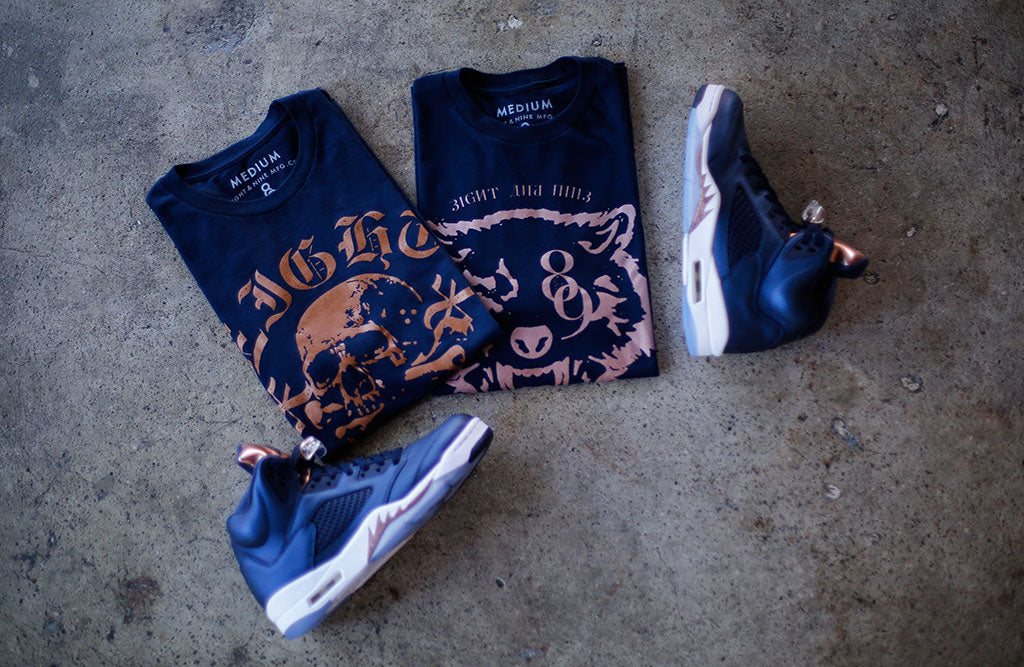 shirts to match jordan bronze 5 release 2016 outfit