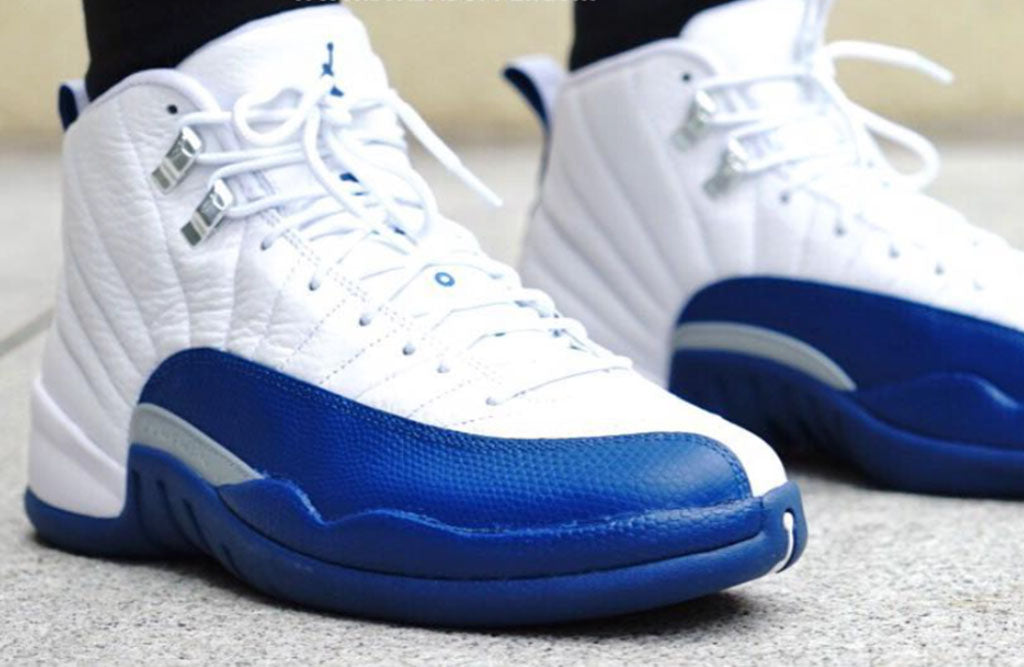 match jordan french blue 12 release