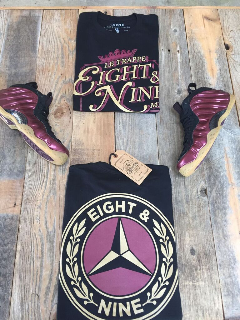 sports shoes 2da9b c9e4b Shirts To Match Maroon Foamposite 2016 Release | Maroon ...