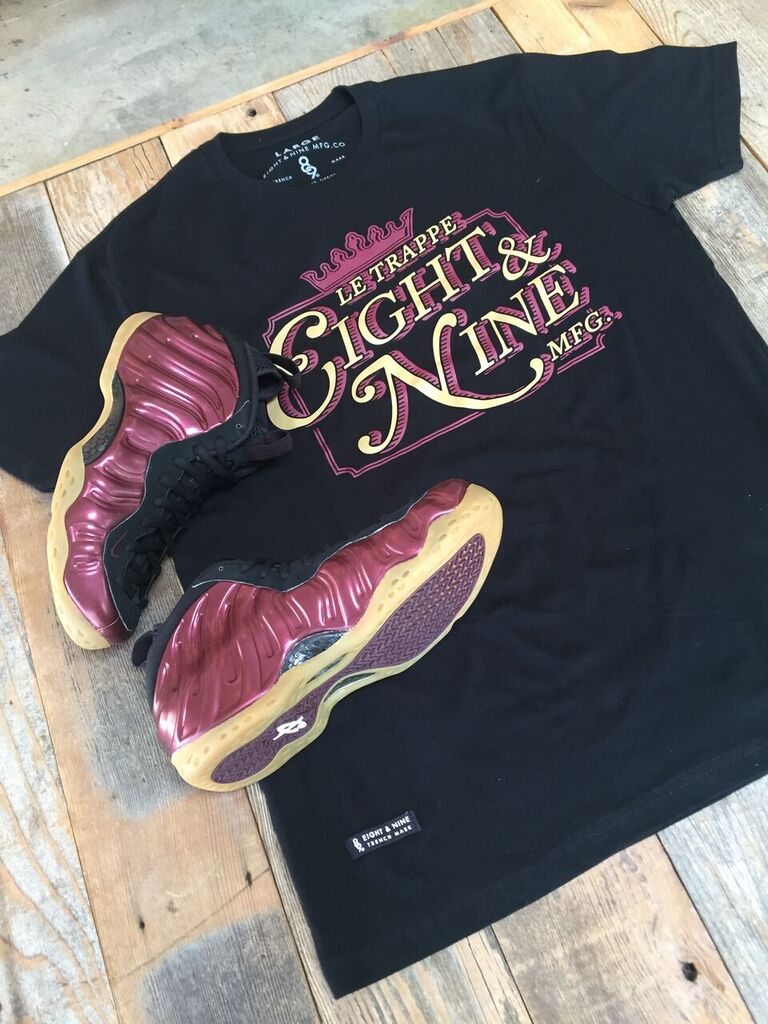 shirts to match maroon foamposite 2016 release  Le Trap