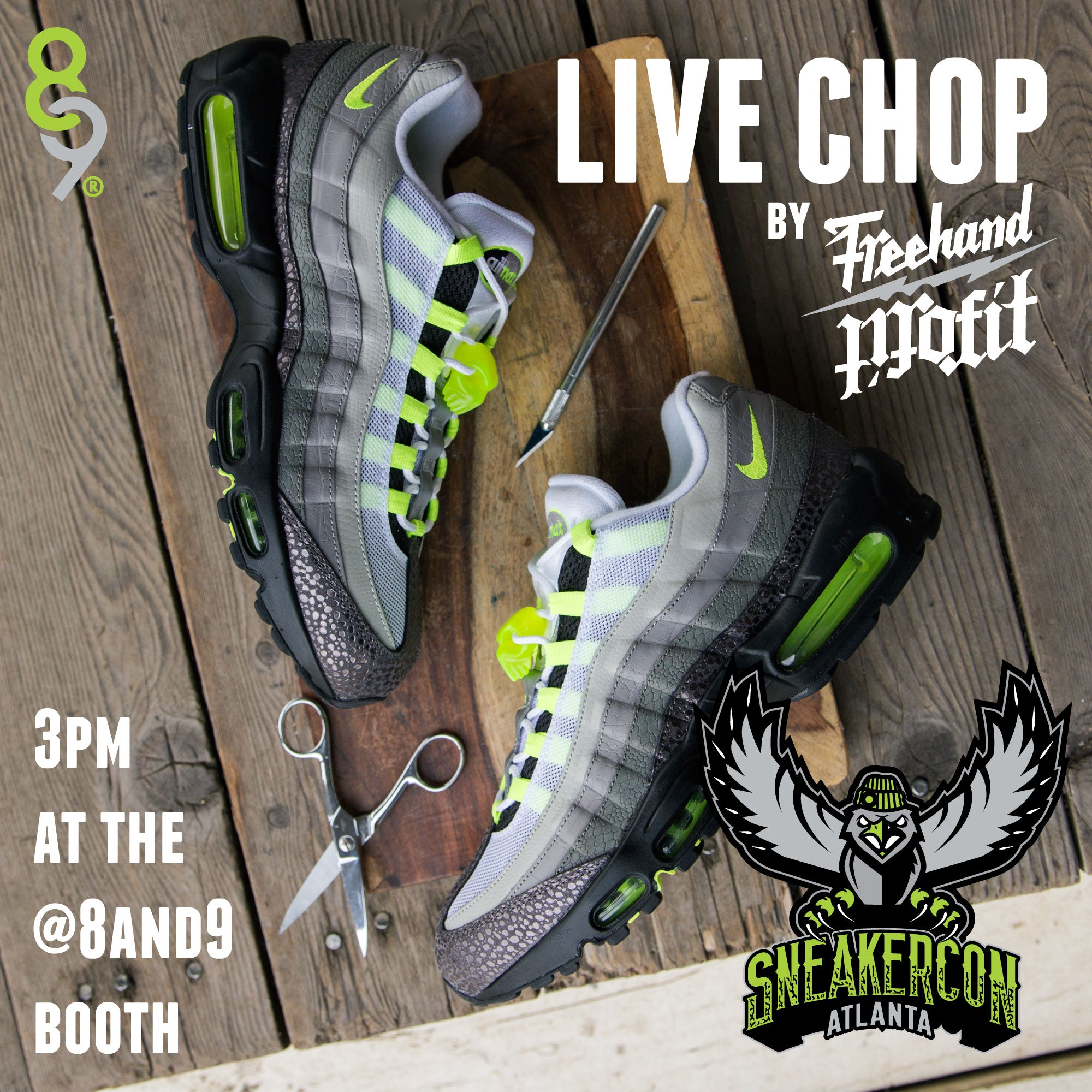 sneaker con freehand profit live chop 8and9 atlanta 2015