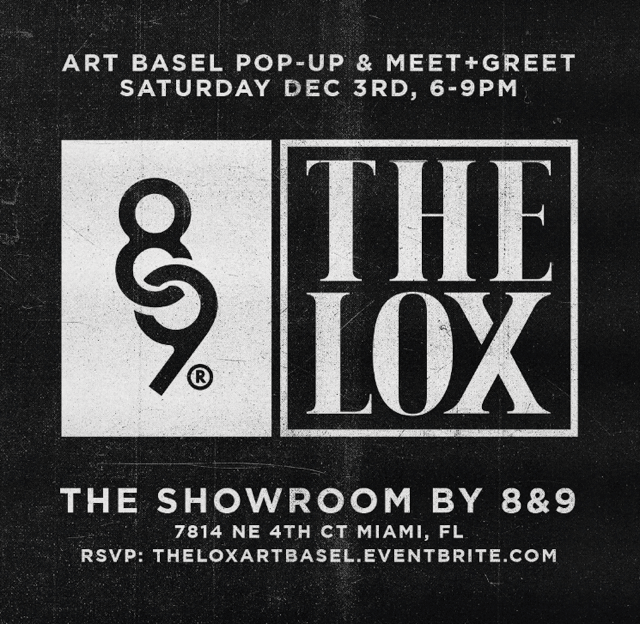 The LOX Pop-Up x Meet & Greet Art Basel Weekend