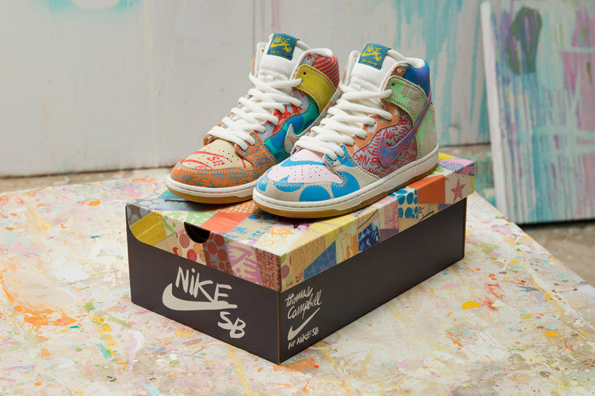 online store 99f26 eebfd ... Thomas Campbell x Nike SB Dunk High Pro ...