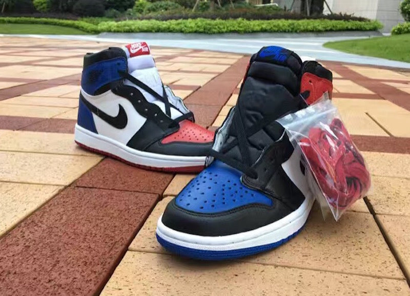 "488a517b296bab THE AIR JORDAN 1 ""TOP THREE"" AKA ""WHAT THE"" RELEASE"