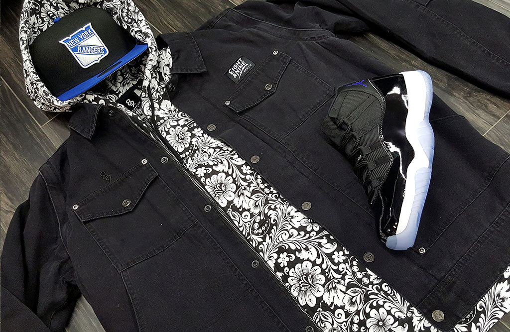 what to wear with the jordan space jam 11 jacket