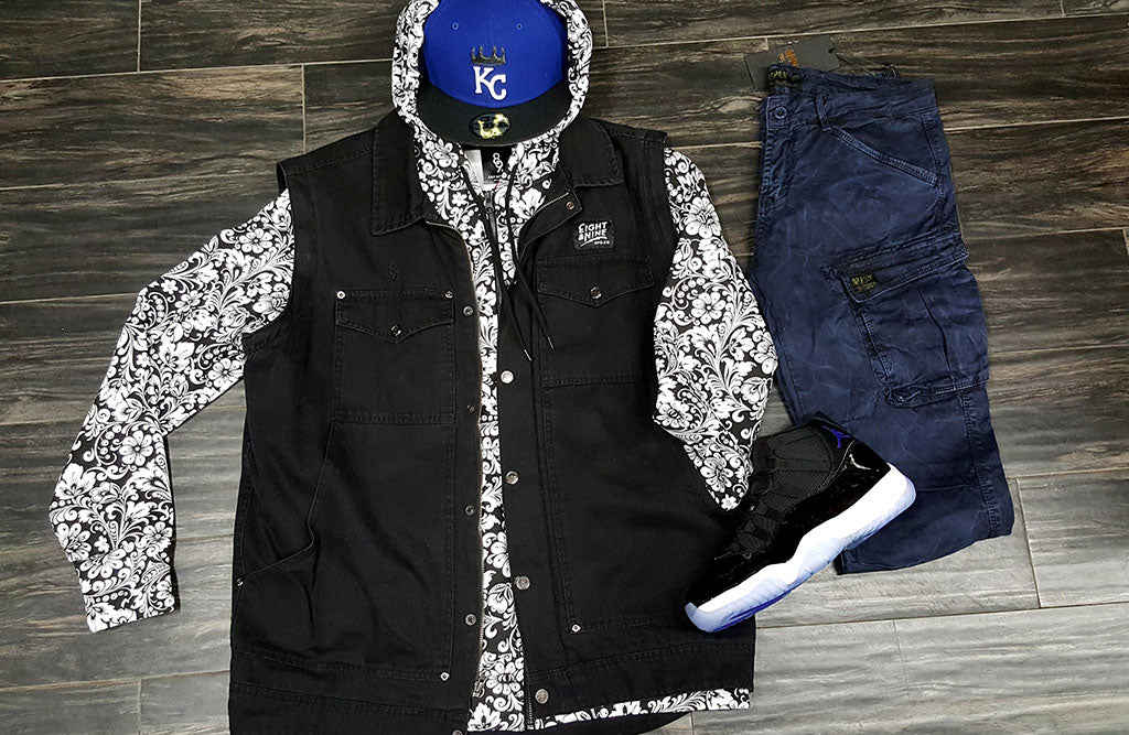 what to wear with the jordan space jam 11 vest