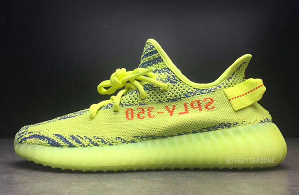 best service 6b470 a4343 yeezy-boost-350-v2-semi-frozen-yellow-shoes- ...