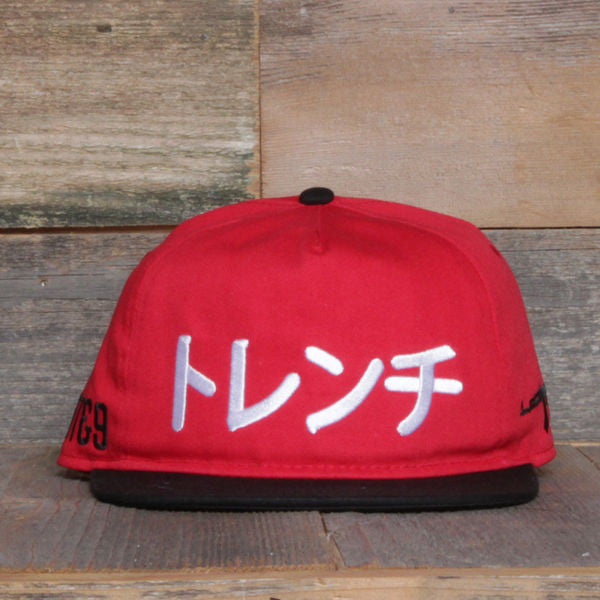 Tsunami Unstructured Baseball Hat Fire Red