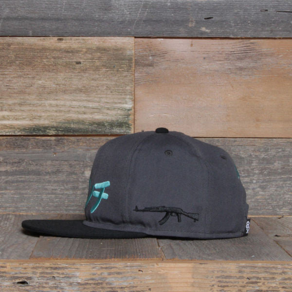 Tsunami Unstructured Baseball Hat Grey