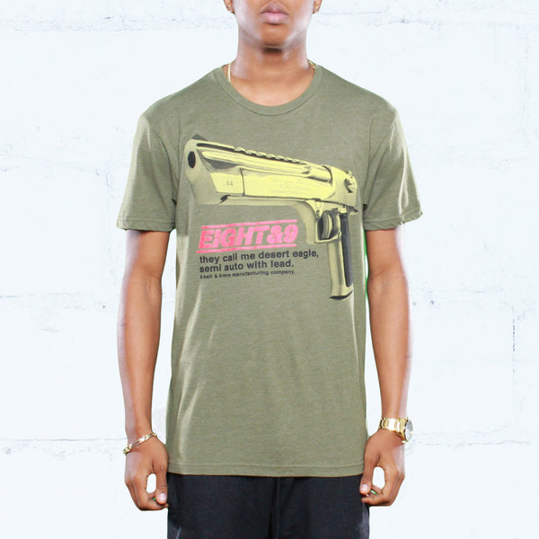Desert Eagle T Shirt Army Heather