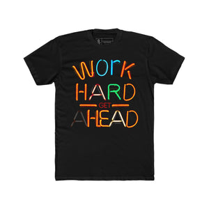 Work Hard Neon Lights T-Shirt Black Quickstrike