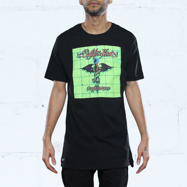 Feelgood Elongated T Shirt Black