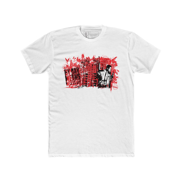 By Any Means Necessary T-Shirt Fired Red Quickstrike
