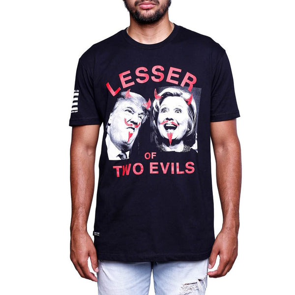 2016 Election T Shirt Lesser Of Two Evils