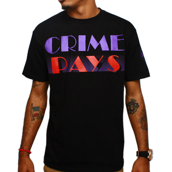 2018 Crime Pays Raptors T Shirt OG
