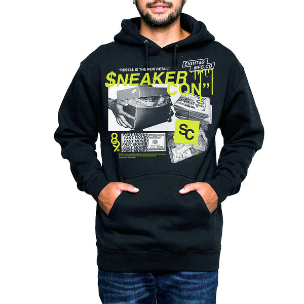 2018 Houston Sneaker Con Hooded Sweatshirt Official Release