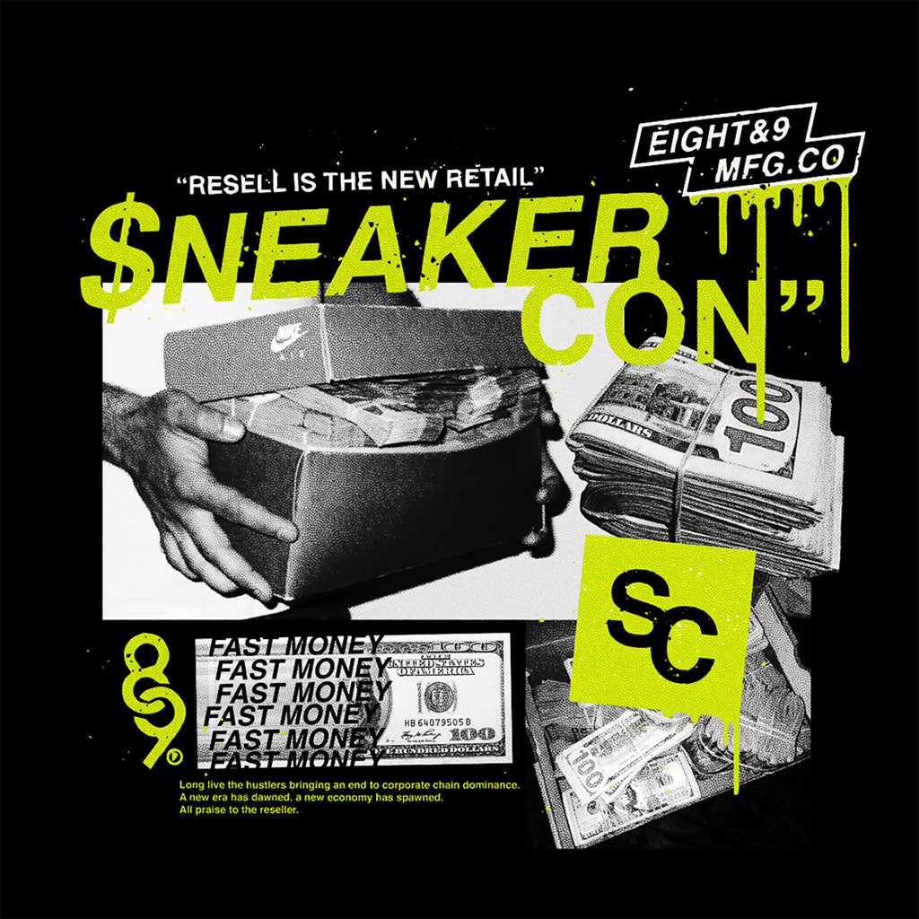 2018 Houston Sneaker Con T Shirt Official Release