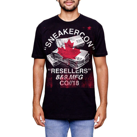 2018 Montreal Sneaker Con T Shirt Official Release