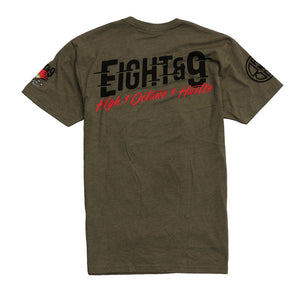 Octane T Shirt Army Heather - 2