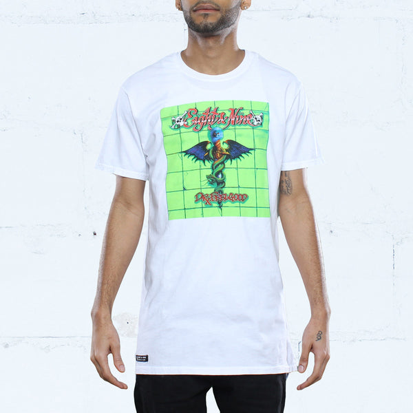 Feelgood Elongated T Shirt White