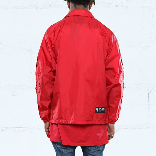 Keys Coaches Jacket Fire Red