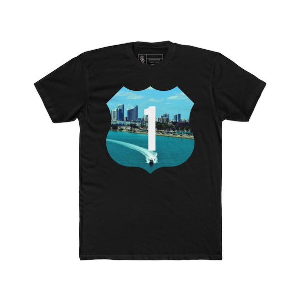 Speed Boat T-Shirt Black Quickstrike