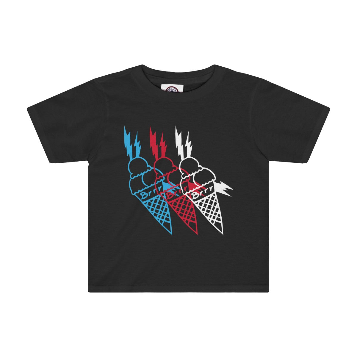 Icey T-Shirt Black Toddler Quickstrike