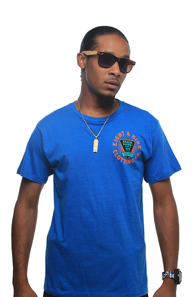 BG Brand Royal Mint T Shirt - 4