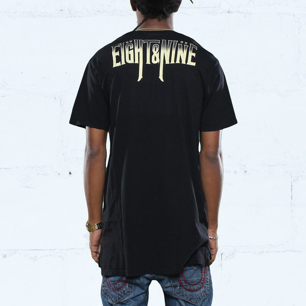 Pain Tour Elongated T Shirt Black