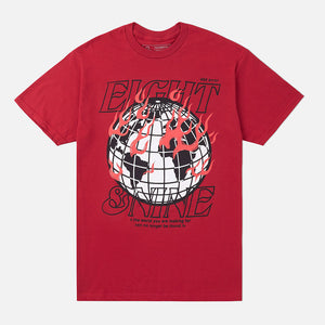 404 Error T Shirt Combat Red