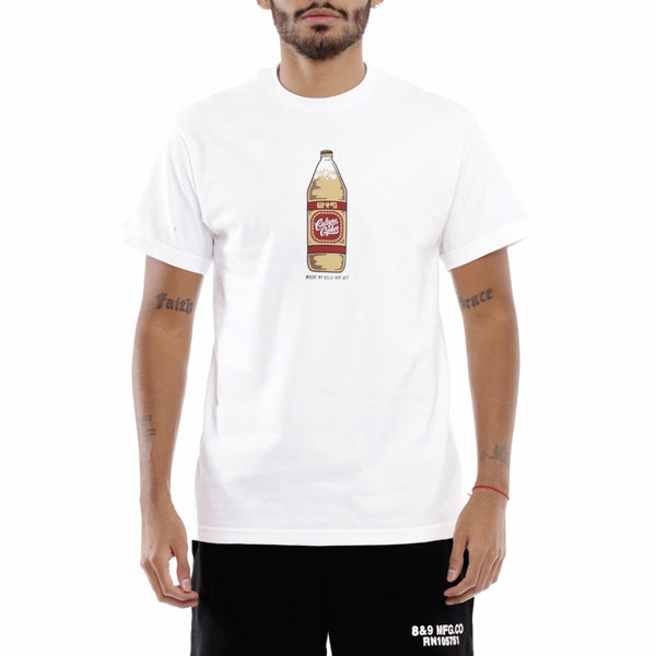 40 oz Culture Cipher T Shirt White