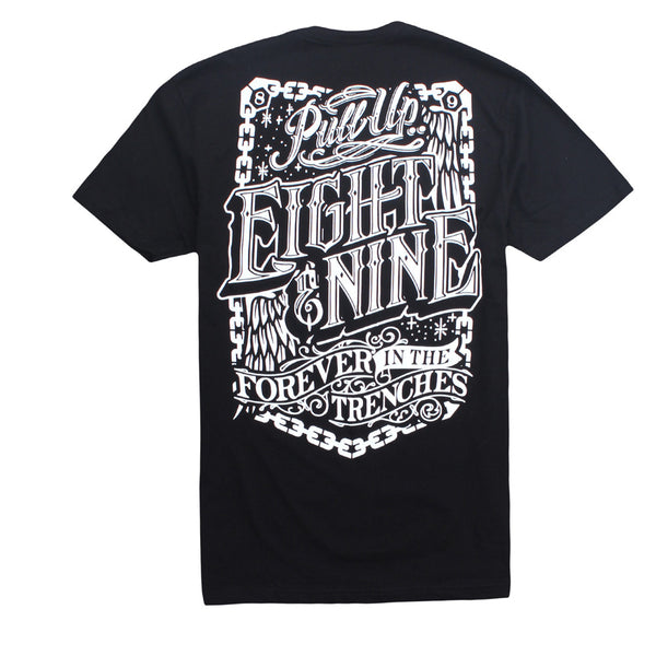 Pull Up Classic T Shirt Black - 2