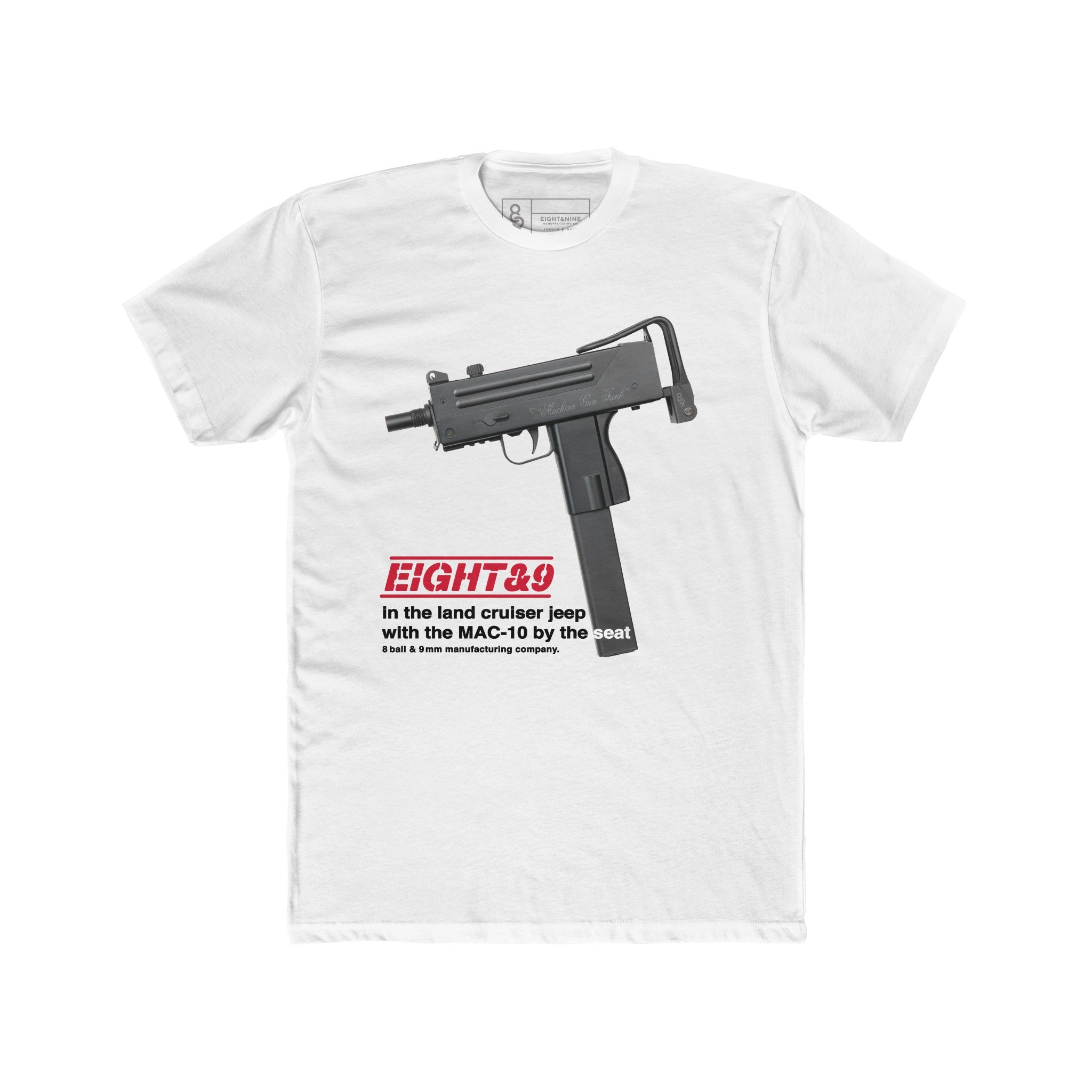 Mac 10 T-Shirt White Quickstrike