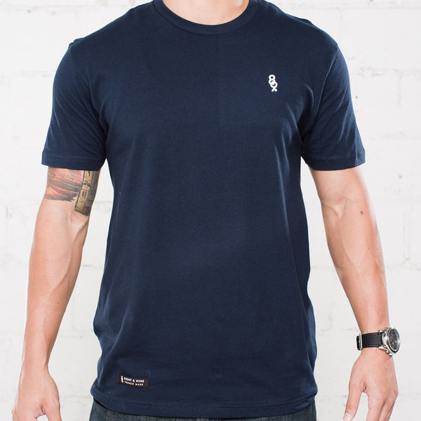 Mini Keys Premium Issue Navy T Shirt