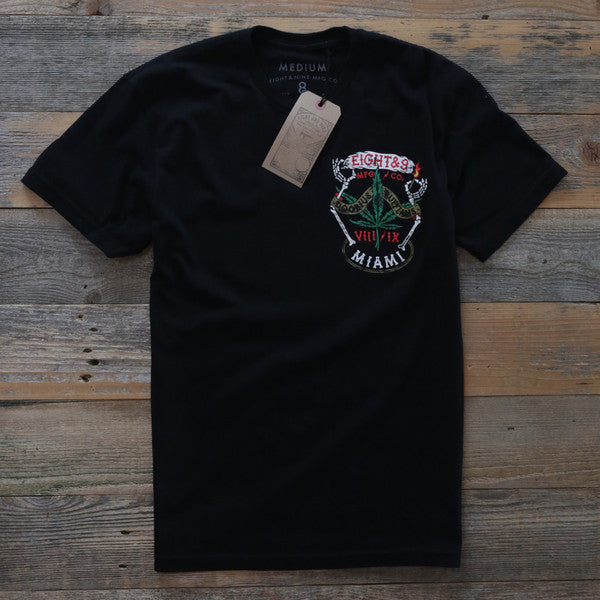 Roaches T Shirt Black