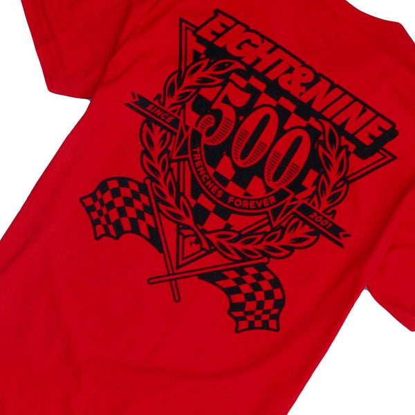 Daytona 2.0 T Shirt Red - 3
