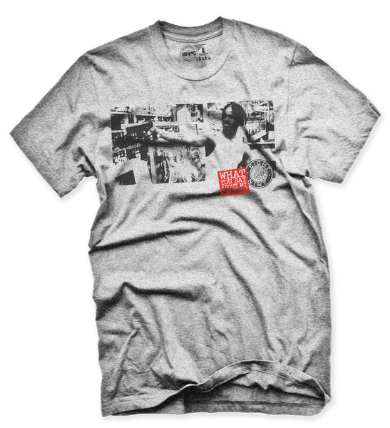 Menace II Society Heather T Shirt - 2