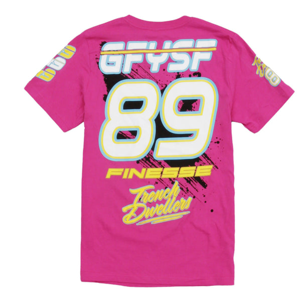 Team Finesse Jersey Tee Pink - 2