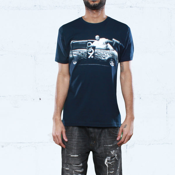 Punisher Tour T Shirt Navy